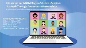 NNLM Region 5 Listens Session – October 19